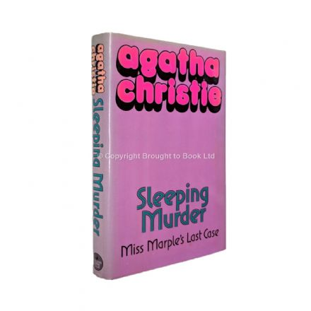 Sleeping Murder Agatha Christie First Edition Published by Collins Crime Club 1976
